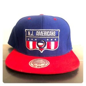 Mitchell and Ness ABA SnapBack hat